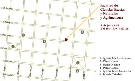Resultado de imagen para ciencias exactas unne calle 9 de julio 1449